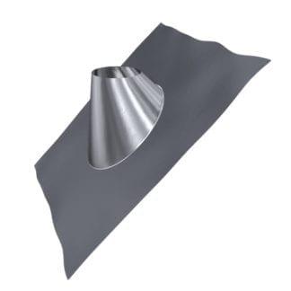 Dachdurchführung 35°- 50° Edelstahl mit Blei DDT045