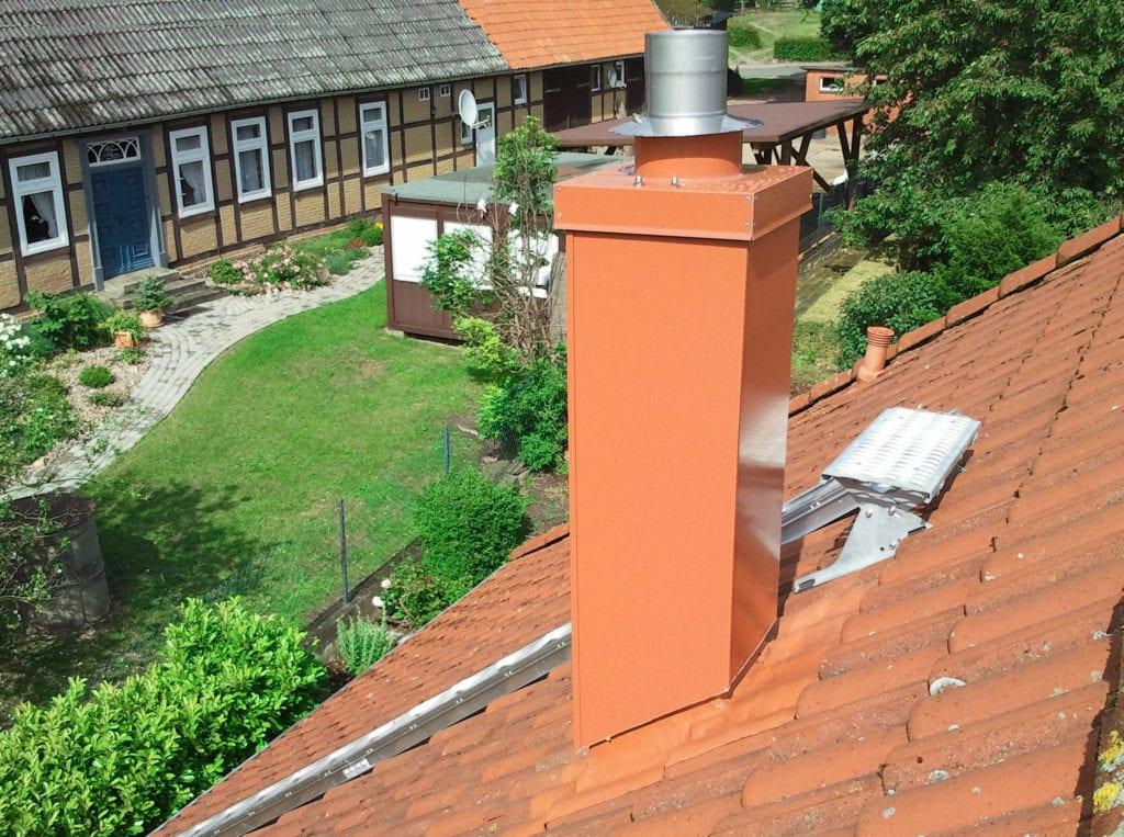 Ableitbedingungen für Abgase aus Feuerstätten für feste Brennstoffe